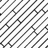 À l'anglaise diagonales