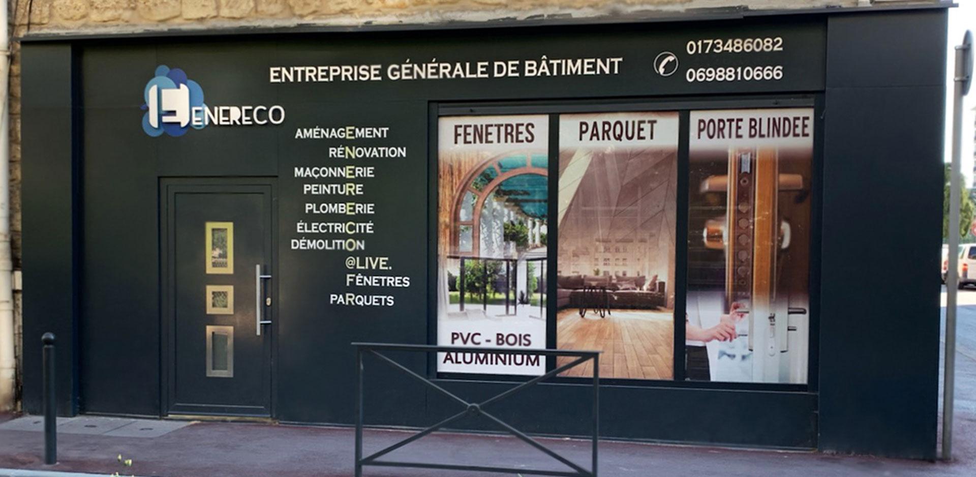 Showroom parquet en Île-de-France - ENERECO